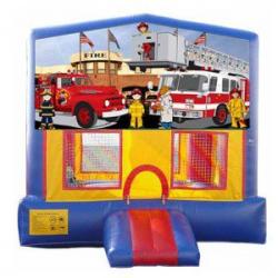 15×15 Fire Truck Bouncer