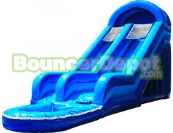 Big Blue Water Slide
