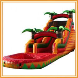18' Tropical Fiesta Breeze Water Slide