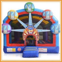 Ferris Wheel Bounce House