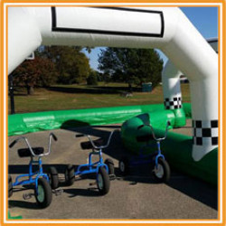 Giant Tricycle w/ Race Track