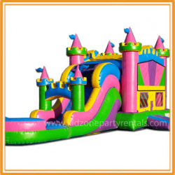 queens combo pool 203747812 Colorful Castle Combo w/pool