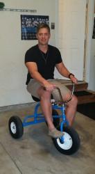 trike1 1619655778 Giant Tricycle (3 bikes)
