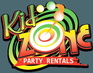 Kid Zone Party Rentals Logo