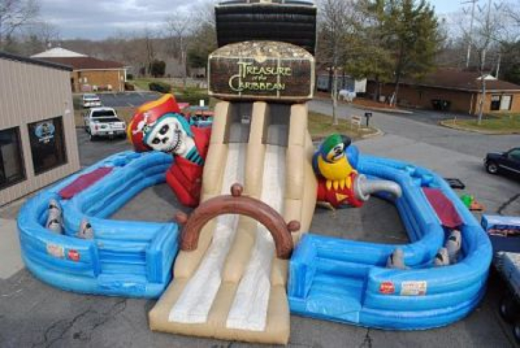Treasure of the Caribbean Obstacle Course