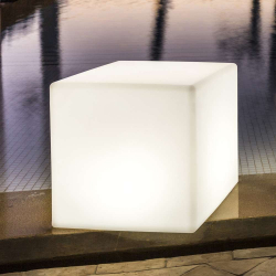 Glowing Cube - 16inx16in