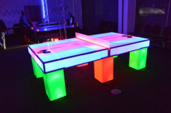 LED Glowing Ping Pong Table