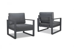 Outdoor Chair - Baltic Grey