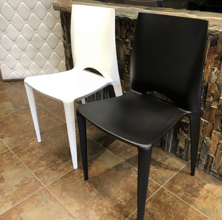 Dining Chair - Black - Crescent