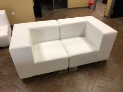 Mondrian - Corner - White