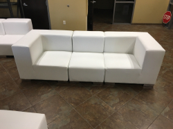 Mondrian - Sofa - White