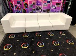 Mondrian - Sofa XL - White