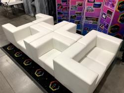 Mondrian - Spider Lounge - White