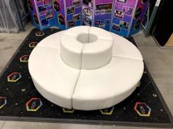 Mondrian - Circular Couch - White