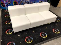 Mondrian - Armless Sofa - White