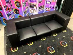 Mondrian - Sofa - Black