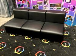 Mondrian - Armless Sofa - Black