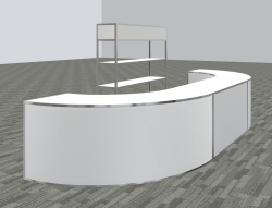 Bar Package - Avenue 16' Bar W/ Bar Back - Circle Option B