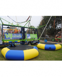 V4 Ultimate Bungee Trampoline incl staff