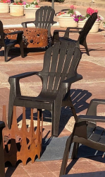 Adirondack Chair - Brown