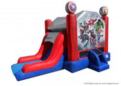Marvel Avengers Water Bounce Combo - Wet