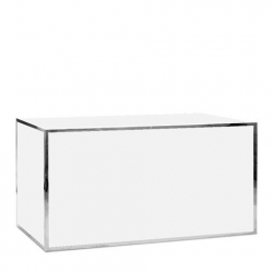 Bar - 6ft Straight - Avenue Silver Frame