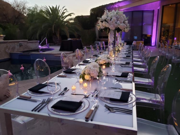 Metropolitan Dining Table - 42 x 96