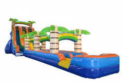 27' Tropical Rush Water Slide