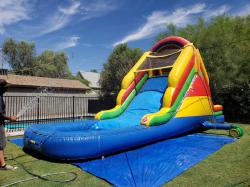 14' Backyard Water Slide
