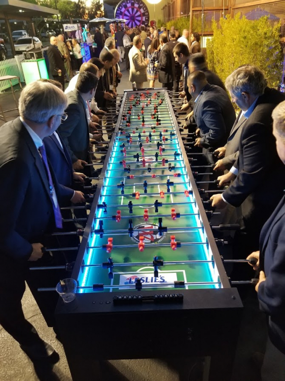 Xl Giant Foosball Table Rentals Epicpartyteam Com