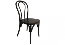 Dining Chair - Black Bentwood