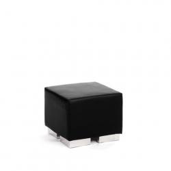 Ottoman - Black - Cube