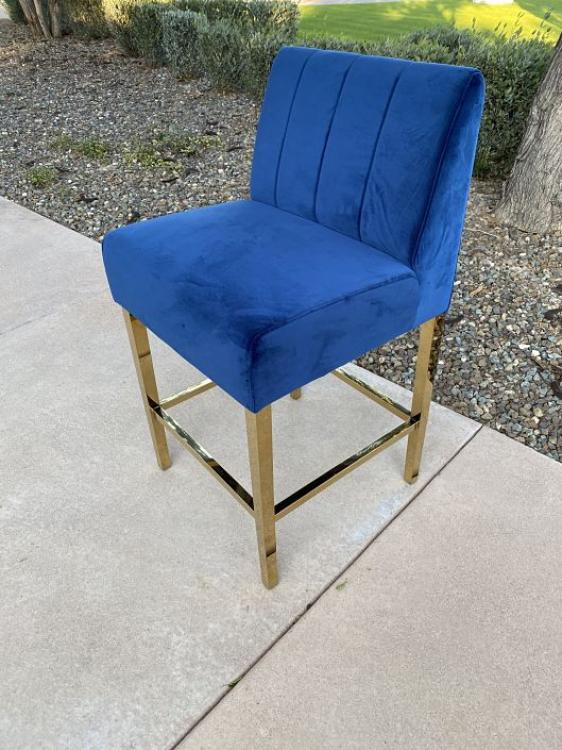 Kincaid Barstool - Sapphire
