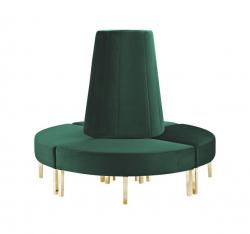 Kincaid Sofa - Circle - Emerald