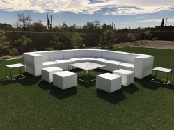 Lounge Package - Mondrian 12 x 12 - White