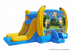 Despicable Me Water Bouncer Combo - Wet