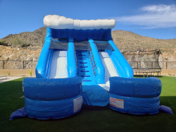 15ft Double Splash Water Slide