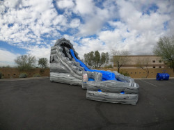 20ft Avalanche Curve Water Slide