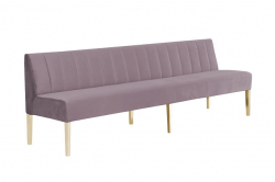 Kincaid Sofa - 8ft Length - Dusty Rose