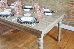 Farm Table - Rustic Grey Wash