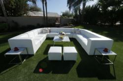 Lounge Package - Mondrian U 12 x 12 - White
