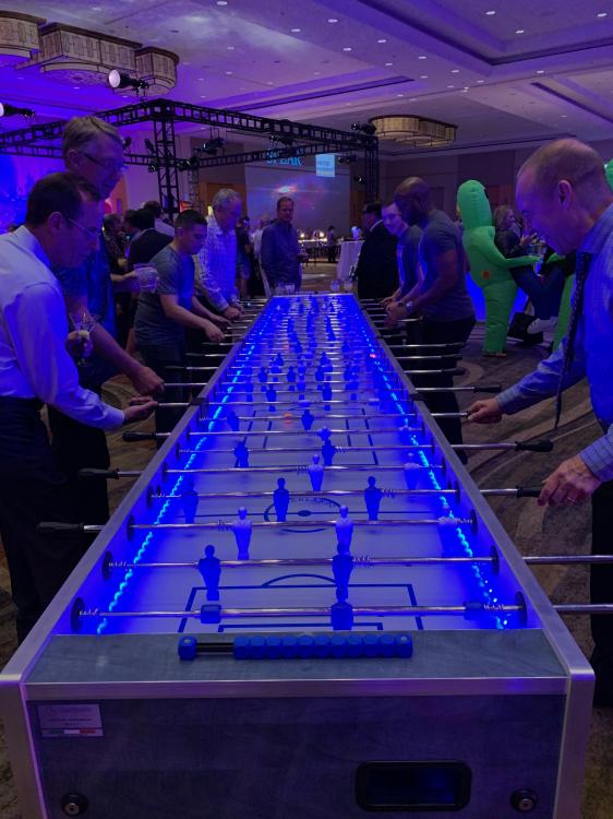 XXXL Giant Foosball Table Rentals | EpicPartyTeam.com ...