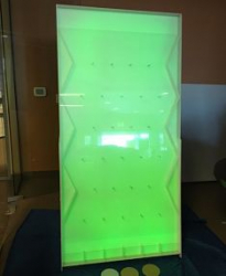 Glowing Plinko Game