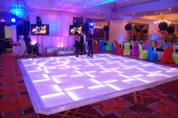 Glowing LED Dance Floor 12 x 12