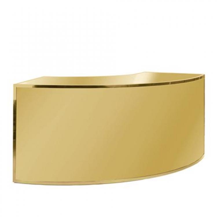 Bar - 1/4 Curve - Gold Frame
