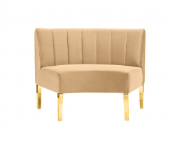 Kincaid Sofa - Inside Round - Champagne