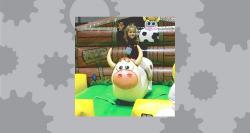 Kids Mechanical Bull incl 1 staff
