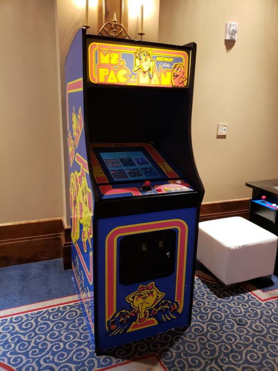 Ms Pacman Arcade Game Rental Epicpartyteam Com Phoenix Az
