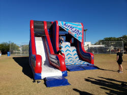 Warped Wall Inflatable