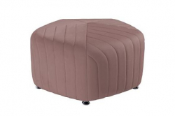 Ottoman Set - Mini and Biggie - Dusty Rose